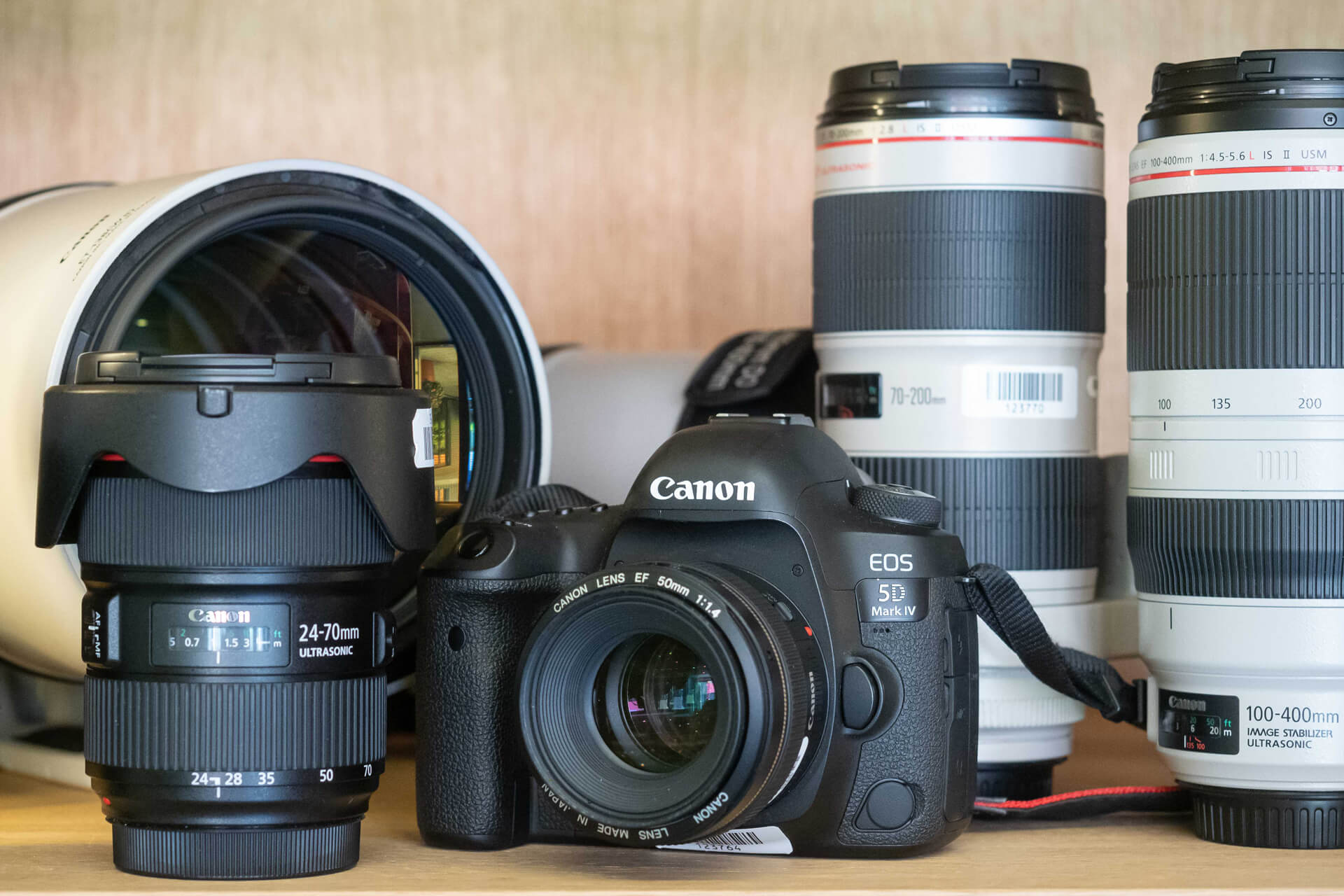 Kamera- und Objektiv-Verleih