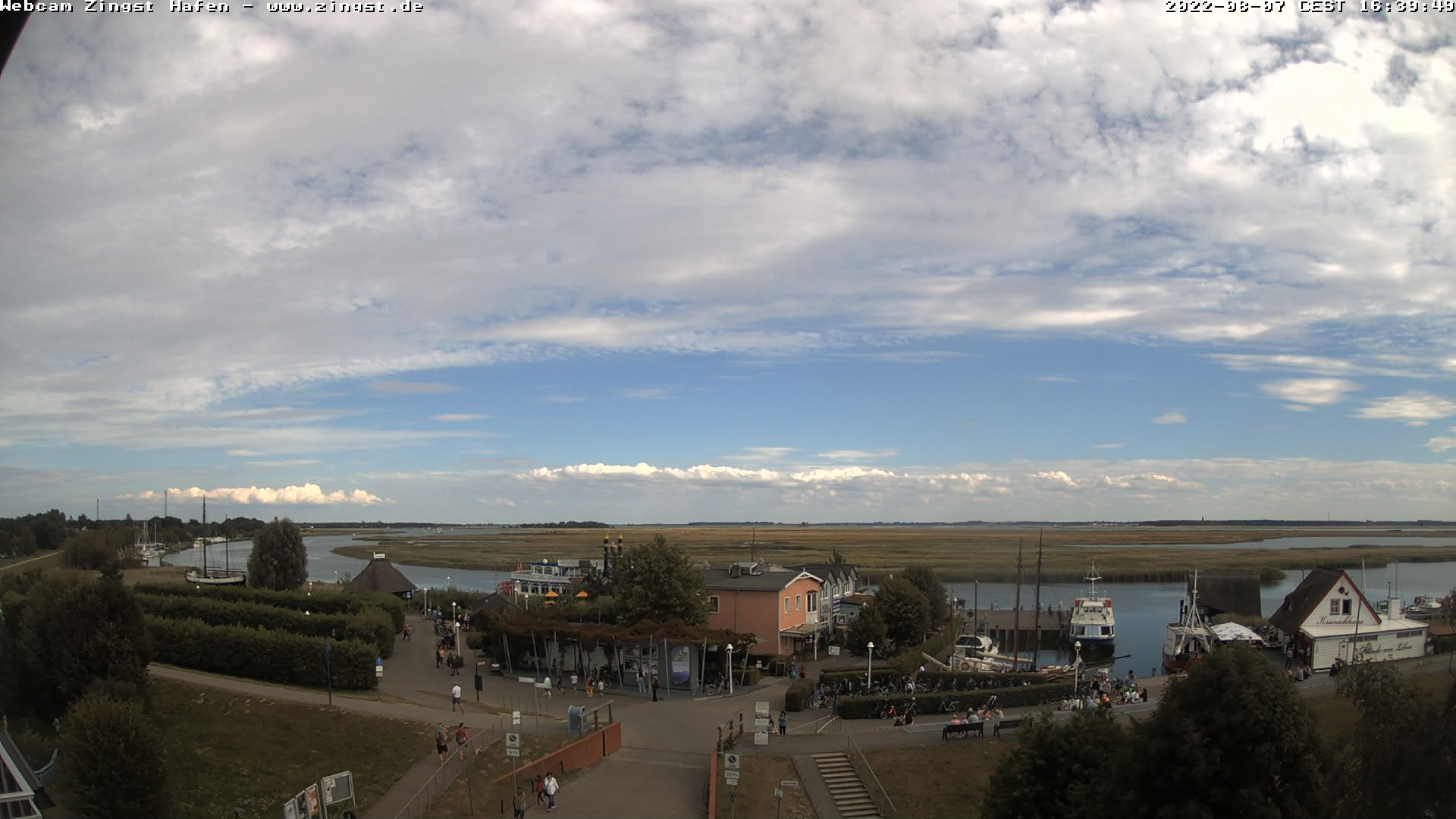 Hafen Webcam Zingst